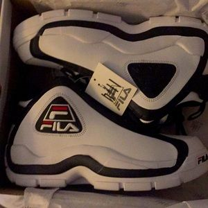 Fila Grant Hill 2 White Black Red size 9.5